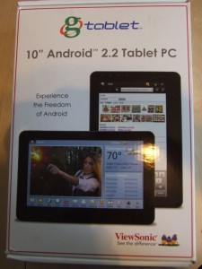 Viewsonic gTablet Box