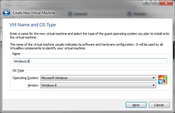 Windows 8 Virtual Machine - Image 2