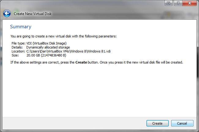 Windows 8 Virtual Machine - Image 3